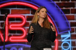 Becca Stevens speaks at ABA's Opening Ceremony